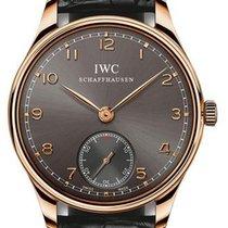 IWC Portuguese Hand-Wound новые 2019 Механические Часы с оригинальными документами и коробкой IW545406