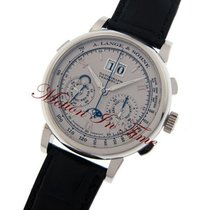 A. Lange & Söhne Datograph new Manual winding Watch with original box and original papers 410.025