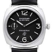 Panerai Radiomir Black Seal 3 Logo Acciaio PAM380