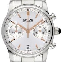 Union Glashütte Seris Otel 38,00mm Argint