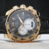 Parmigiani Fleurier Pershing Chronograph 18k Rose Gold 45mm New