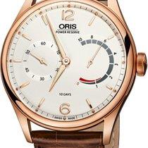 Oris Rose gold Manual winding Silver new Artelier