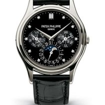 Patek Philippe Grand Complications Platinum Black Strap UNWORN...