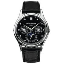 Patek Philippe Perpetual Calendar Platinum 37.2mm Black No numerals United States of America, New York, New York