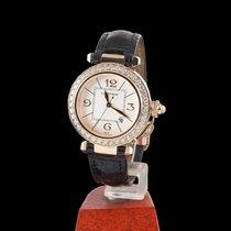 Cartier Pasha Yellow Gold and Diamonds Automatic