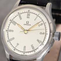 Omega caliber 30 T2 SC PC with central seconds gent's wristwatch