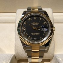 Rolex Datejust II Steel and Gold B&P