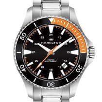 Hamilton Khaki Navy Scuba Automatic Stainless Steel Men's...