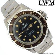 Rolex Submariner 5513 No Date Spider Craquelé dial Full Set...