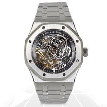 Audemars Piguet Royal Oak DOUBLE BALANCE WHEEL OPENWORKED -...