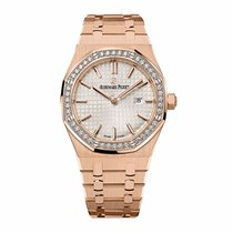 Audemars Piguet Royal Oak Lady Rose Gold Diamond-Set Bezel 33mm