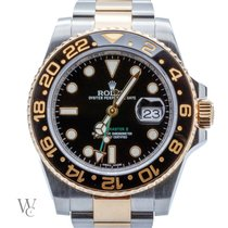 Rolex GMT-Master II Steel&Gold (Box&Papers) Like New
