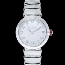 Bulgari Lucea Steel Mother of pearl United States of America, California, San Mateo