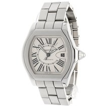 Cartier Roadster Large 3312 Stainless Steel Silver Dial