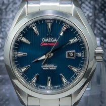 Omega Seamaster usados 36mm Azul Fecha Acero