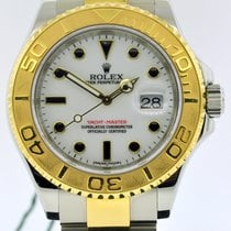 Rolex Yacht-Master pre-owned 40mm Gold/Steel