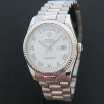 Rolex Day-Date White Gold 118239