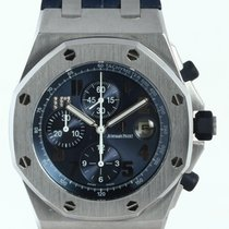 Audemars Piguet Royal Oak Offshore Chronograph Платина 44mm Синий