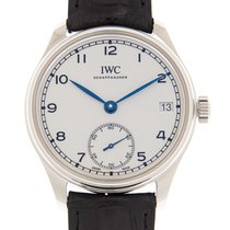 IWC Portuguese Hand-Wound new 43mm Steel