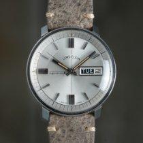 엘진 스틸 37.5mm 자동 2356 중고시계