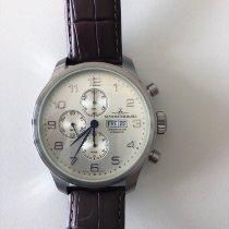 Zeno-Watch Basel Chronograph 47mm Automatik gebraucht OS Pilot