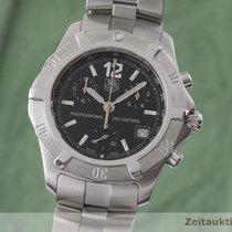 TAG Heuer 2000 Zeljezo 41mm Crn