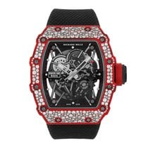 Richard Mille new Automatic Screw-Down Crown 49.94mm Carbon Sapphire Glass