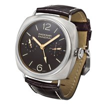Panerai Radiomir Tourbillon GMT Titan 48mm Brun