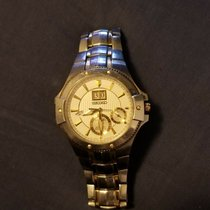 Seiko Coutura Steel 42mm Gold United States of America, New York, Bronx