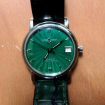 Ulysse Nardin San Marco Steel 33mm Green No numerals
