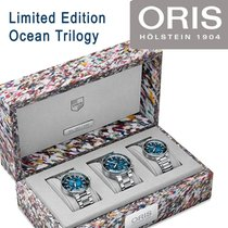 Oris Steel Automatic Oris Ocean Trilogy Limited Edition of 200 new United States of America, Pennsylvania, Uniontown
