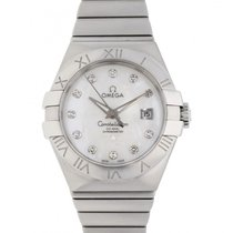 Omega Constellation Ladies Steel 31mm Mother of pearl No numerals