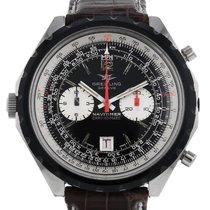 Breitling Navitimer Steel 47mm Black No numerals