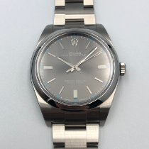 Rolex Oyster Perpetual 39 Steel 39mm Grey No numerals Malaysia, Kuala Lumpur