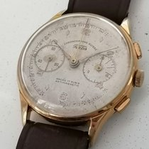 Chronographe Suisse Cie Steel 37mm Manual winding Serviced pre-owned