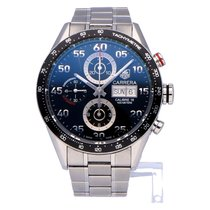 TAG Heuer Carrera Calibre 16 Staal 43mm Zwart Arabisch Nederland, The Netherlands