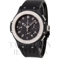 Hublot Ceramic Automatic Black 44mm pre-owned Big Bang 44 mm