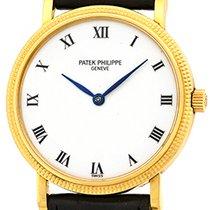 "Patek Philippe Gent's 18K Yellow Gold  Ref # 3992 ""Cal..."