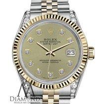 Rolex Lady-Datejust Золото/Cталь 31mm Цвета шампань Без цифр