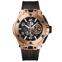 Hublot Big Bang Ferrari Unico King Gold 45mm Mens Watch