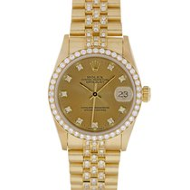 Rolex 68278 Yellow gold 1995 Datejust 31mm pre-owned United States of America, Maryland, Towson, MD