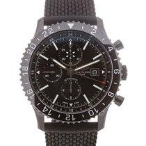 Breitling Chronoliner 46mm Chronograph Black Dial