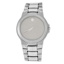 Movado Authentic Unisex Museum 84 G1 1898 Steel Silver