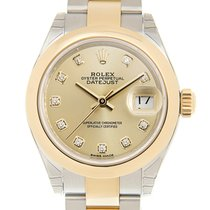 勞力士 Lady Datejust Gold And Steel Gold Automatic 279163GCH_O