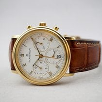Blancpain Villeret 1185-1418-55 Very good Yellow gold 34mm Automatic Thailand, Bangkok