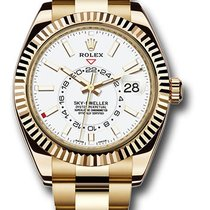 Rolex Sky-Dweller Yellow gold 42mm White Arabic numerals United States of America, New York, New York