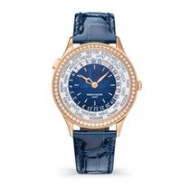Patek Philippe World Time Rose gold 36mm Blue