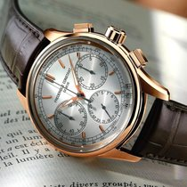 Frederique Constant Manufacture FLyback Chronograph Steel/Rose...