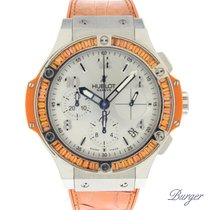 Hublot Big Bang Tutti Frutti Steel Orange MOP Dial