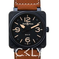 Bell & Ross BR0192-HERITAGE Steel BR 01-92 new